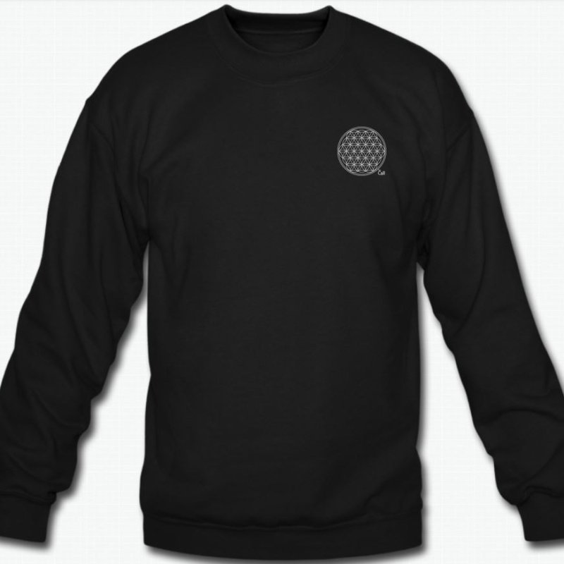 Flower of Life Sweater Black