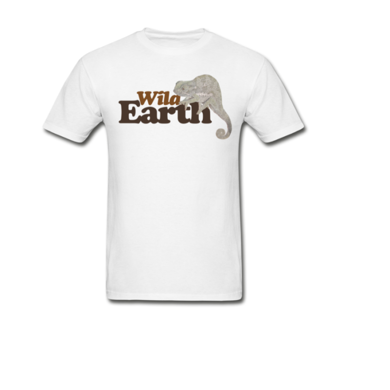 WildEarth Mens Tee with Chameleon.