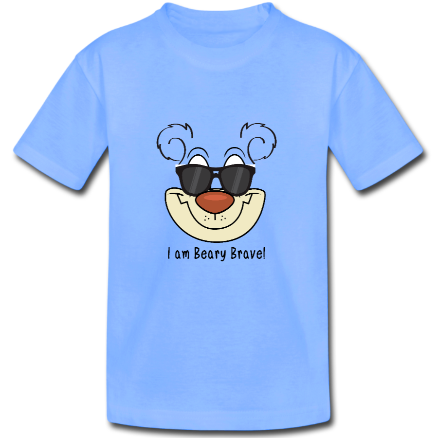 The Bears of Blueberry Forest 'I am Beary Brave' t-shirt