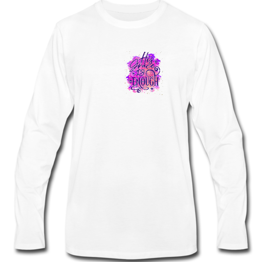 His Grace Is Enough Long Sleeve Tee