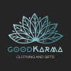 Good Karma Square Grey BG Logo